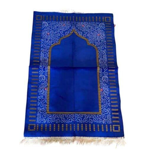 Tapis de prière motif carré