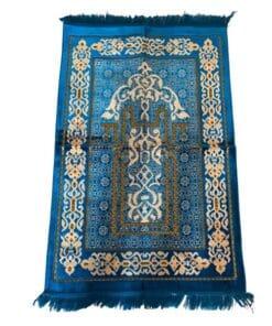 Tapis de prière bleu claire