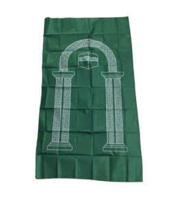 tapis de prière de poche vert Classic